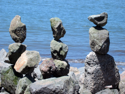 Rocks as Metaphor for Living With Chronic Illness